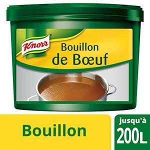 Knorr Bouillon de Boeuf Déshydraté seau 4Kg jusqu'à 200L
