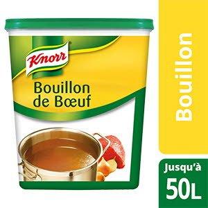 Knorr Bouillon de Bœuf Déshydraté 1kg jusqu'à 50L