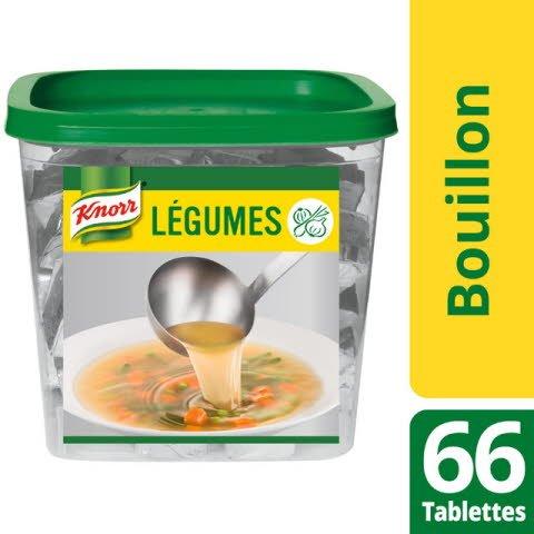 Knorr Bouillon de légumes 66 tablettes de 10g -