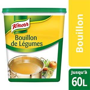 Knorr Bouillon de Légumes Déshydraté 1,2 Kg jusqu'à 60 L