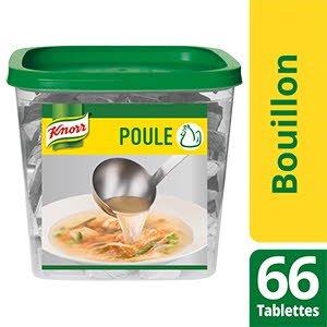 Knorr Bouillon de Poule 66 tablettes 10g -