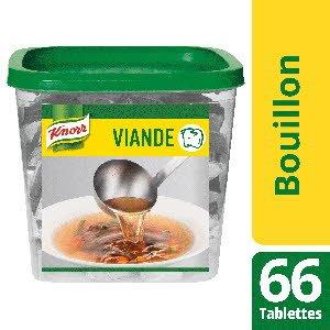 Knorr Bouillon de Viande 66 tablettes 10g