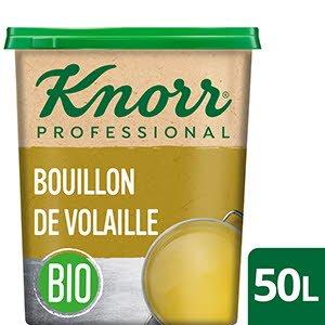 Knorr Bouillon de Volaille BIO 50L 1kg  - Certifié bio