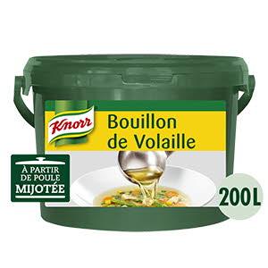 Knorr Bouillon de Volaille Déshydraté seau 4Kg