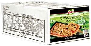 Knorr Collezione Italiana Fonds de pâte à Pizza 18 portions