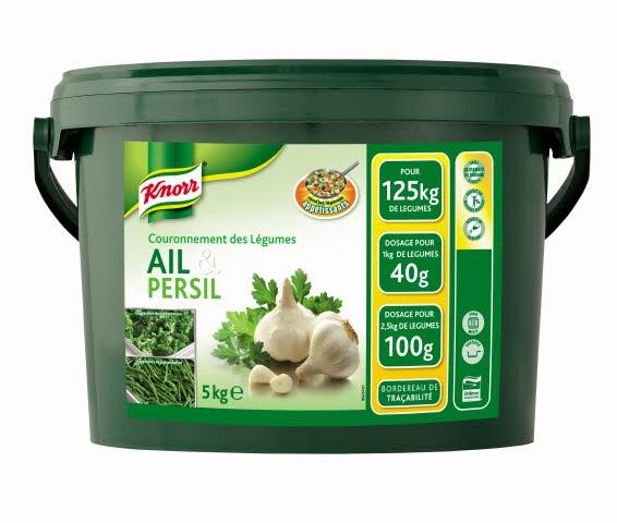 Knorr Couronnement des Légumes Ail & Persil 5 Kg