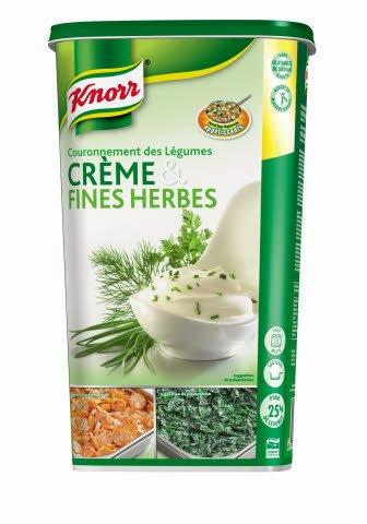 Knorr Couronnement des légumes Crème & Fines Herbes 1kg