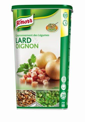 Knorr Couronnement des légumes Lard & Oignon Déshydraté 1kg
