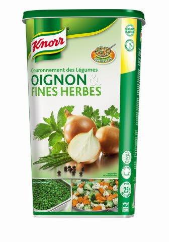 Knorr Couronnement des légumes Oignons & fines herbes Déshydraté 1kg