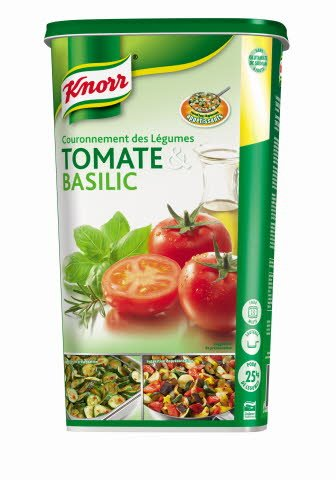 Knorr Couronnement des légumes Tomate & Basilic Déshydraté 1kg