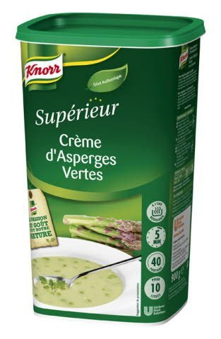 Knorr Crème d'Asperges Vertes 900g 40 portions -