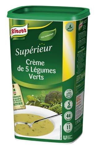 Knorr Crème de 5 Légumes Verts 535g 44 portions