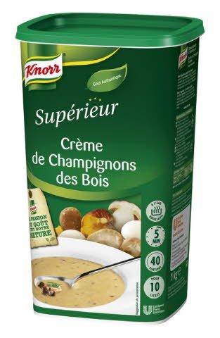 Knorr Crème de Champignons des Bois 1kg 40 portions -