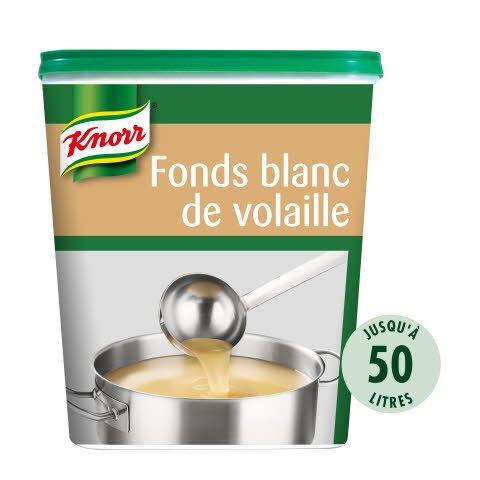 Knorr Fonds Blanc de Volaille Déshydraté 750g jusqu'à 50L