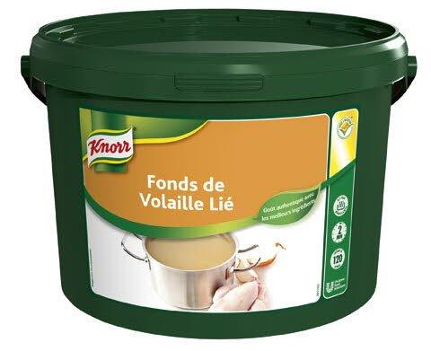 Knorr Fonds de volaille Déshydraté seau 3kg jusqu'à 120L -