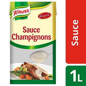 Knorr Garde d'or Sauce Champignons 1L