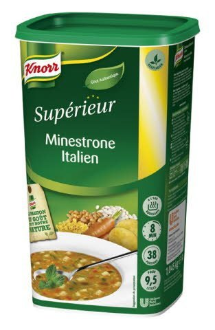 Knorr Minestrone Italien 500g 38 portions