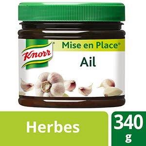 Knorr Mise en place Ail Pot 340g - Découvrez l'intensité de l'ail toute l'année