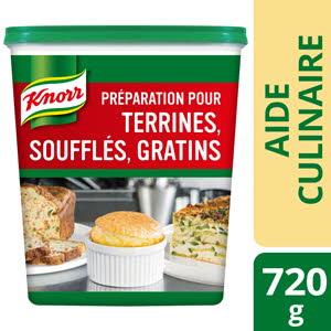 Knorr Préparation pour Terrines, Soufflés et Gratins 720 g