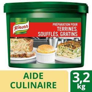 Knorr Préparation pour terrines soufflés gratins seau 3,2kg