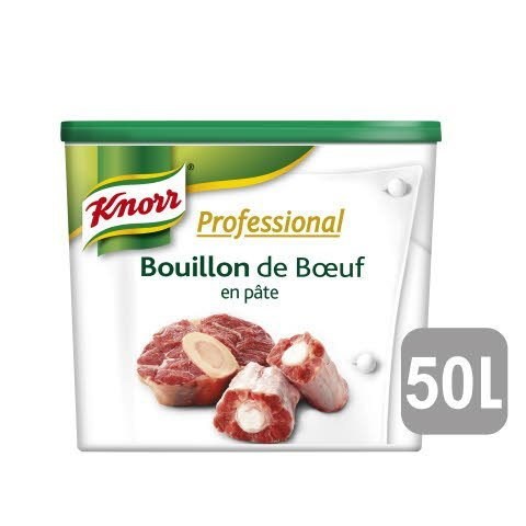 Knorr Professional Bouillon de Bœuf en Pâte 850g Jusqu'à 50L
