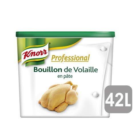 Knorr Professional Bouillon de Volaille en Pâte 850g Jusqu'à 42L