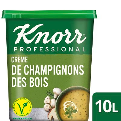 Knorr Professional Crème de Champignons des Bois 1kg jusqu'à 10L -
