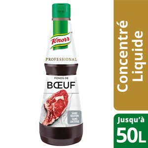 Knorr Professional Fond de Boeuf Concentré Bouteille 1L