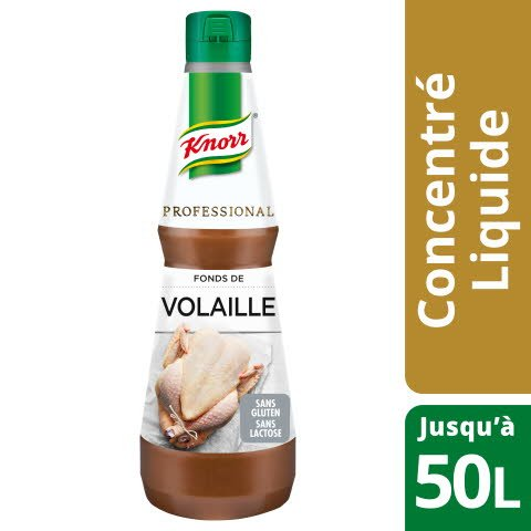 Knorr Professional Fonds de Volaille Concentré Bouteille 1L -