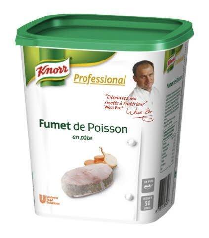 knorr Professional Fumet de Poisson en pâte 1kg jusqu'à 50L