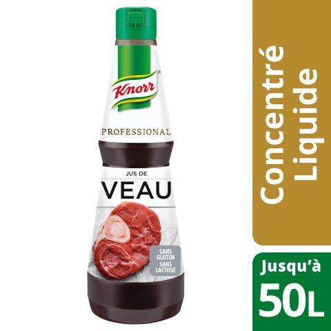 Knorr Professional Jus de Veau Concentré Bouteille 1L