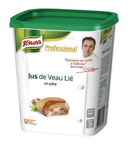 Knorr Professional Jus de Veau Lié en pâte 1kg jusqu'à 28L -