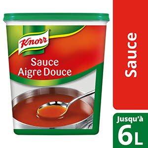 Knorr Sauce Aigre Douce Déshydratée 1,2g jusqu'à 6L
