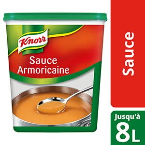 Knorr Sauce Armoricaine Déshydratée 800g Jusqu'à 8L -
