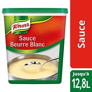 Knorr Sauce Beurre Blanc Déshydratée 1Kg Jusqu'à 12,8L