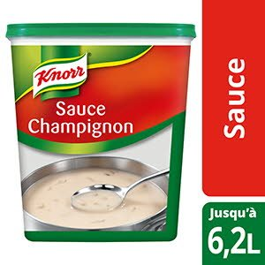 Knorr Sauce Champignon Déshydratée 800g Jusqu'à 6,2L