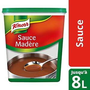Knorr Sauce Madère  Déshydratée 800g Jusqu'à 8L
