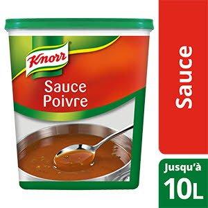Knorr Sauce Poivre déshydratée 900g jusqu'à 10L -