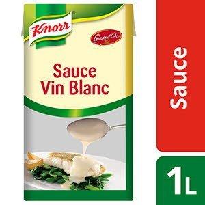 Knorr Sauce Vin Blanc Déshydratée 750G Jusqu'à 5L -