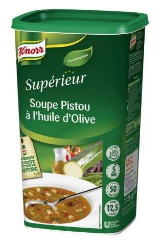 Knorr Soupe au Pistou à l'Huile d'Olive 1,125kg 50 portions