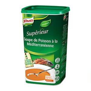 Knorr Soupe de Poisson Méditerranéenne 1kg 50 portions