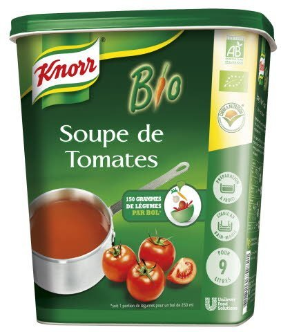 knorr soupe de tomate bio unilever food solutions. Black Bedroom Furniture Sets. Home Design Ideas