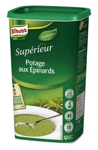 Knorr Soupe Douceur d'épinards 1,1kg 38 portions