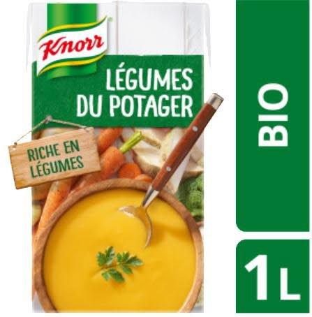 Knorr Soupe Liquide Bio - Velouté de Légumes du Potager -