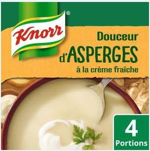 Knorr Soupe Liquide - Douceur d'Asperge à la crème fraiche  1l -