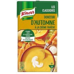 Knorr Soupe Liquide - Douceur d'Automne à la crème fraîche  1L -