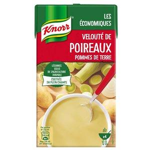 Knorr Soupe liquide - Velouté de Poireaux Pommes de Terre 1L -