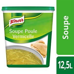 Knorr Soupe Poule Vermicelle 825g 50 portions -