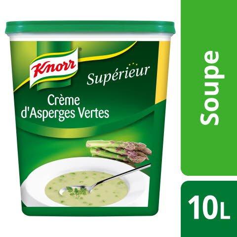 Knorr Supérieur Crème d'Asperges Vertes 900g 40 portions