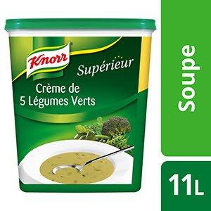 Knorr Supérieur Crème de 5 Légumes Verts 535g 44 portions -